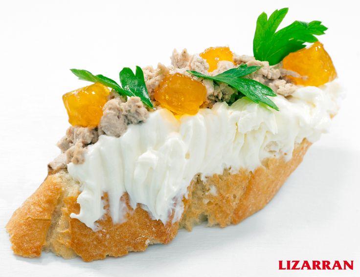 Paté de queso #Lizarran #Pinchos