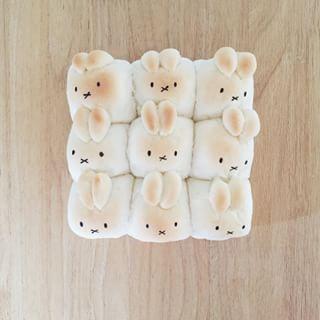 ミッフィちぎりパン