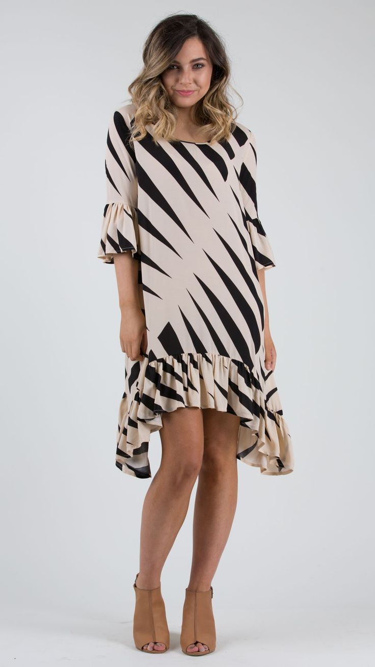 Monte Carlo Emillie Dress - Feather and Noise