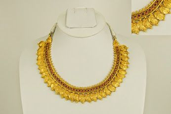 This awesome neck piece, from our collection of temple jewelry for the ethnic chick in you! A must have in your collection! Only at Amamrsons pearls and jewelers, Park lane, Secundrabad, #Hyderabad   #india  Soon upcoming website: http://www.amarsonspearl.co.in/