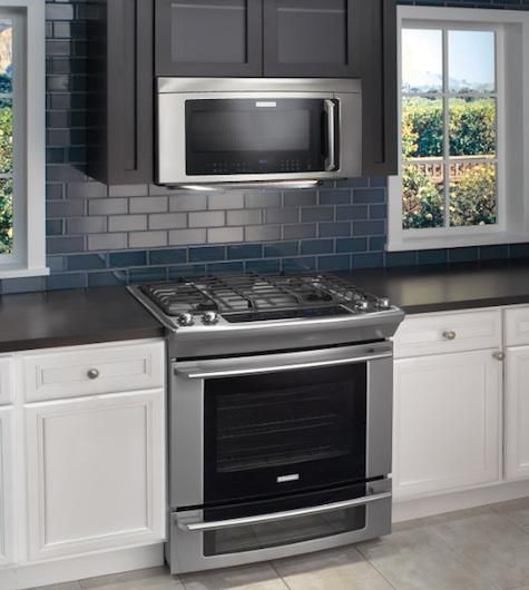 Electric Stove And Microwave Combo