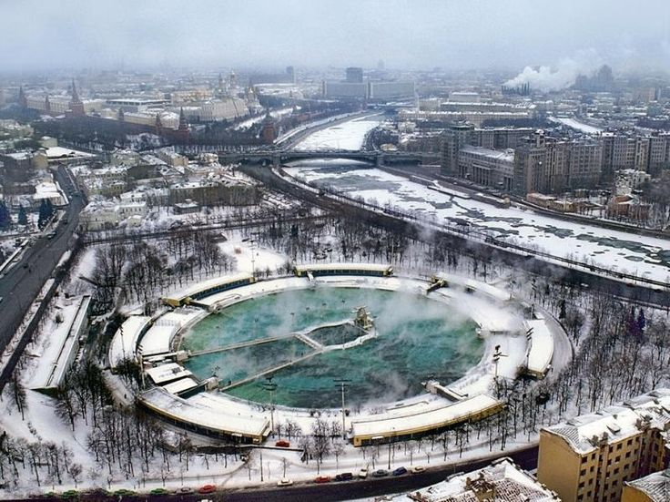 swimming pool Moscow, no longer exists