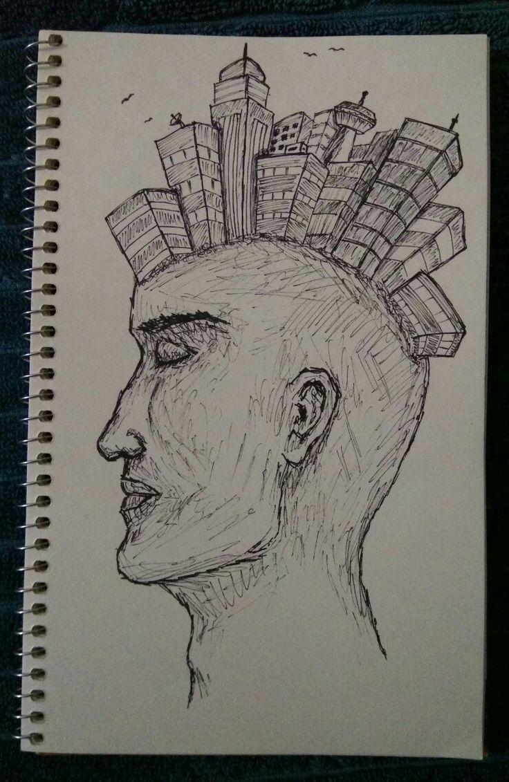 Busy head