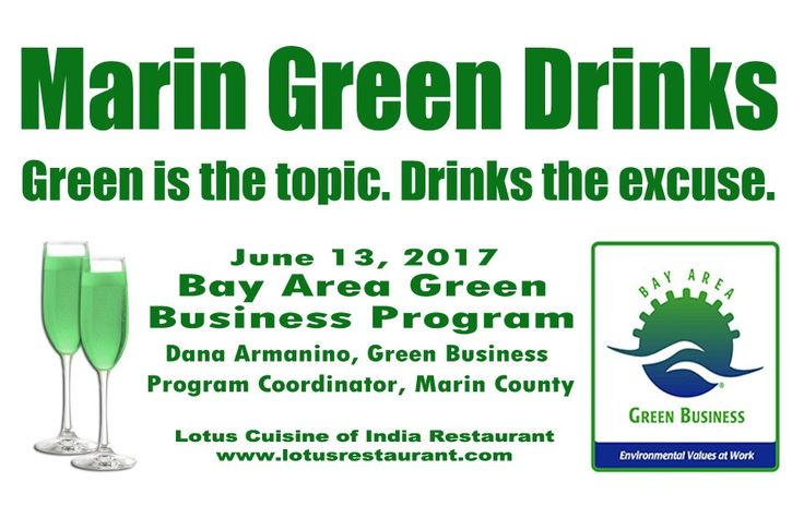 Business owners and managers can find out how to get certified in the Marin Green Biz Program from County of Marin Sustainability Planner Dana Armanino. She'll educate you on how to earn the designation and what resources are available from the County and local agencies to help you reduce your energy, water, waste and operating costs.