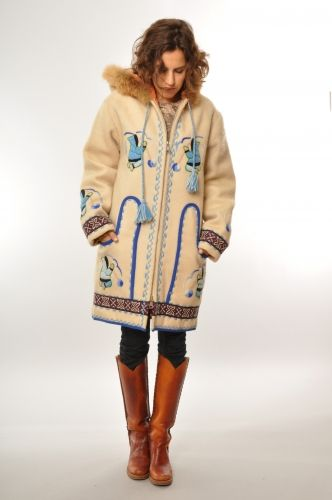 Vintage Inuit Coat
