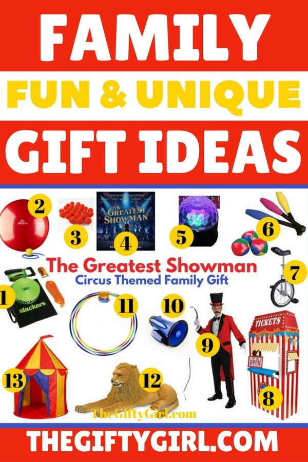 The Greatest Showman: Circus Themed Family Gift | Kid Blogger ...