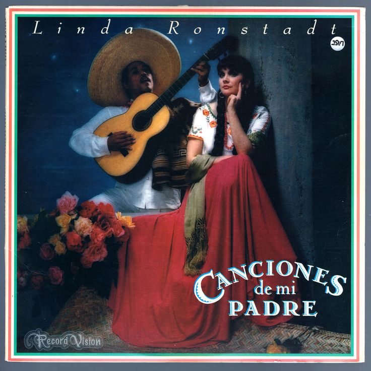"#Canciones #De #Mi #Padre ( #Spanish for #SongsOfMyFather, or ""My Father's Songs"") is #Linda #Ronstadt's first album of #Mexican traditional #Mariachi music. The album immediately became a global smash hit. At 2½ million US sales, it stands as the biggest selling non-English language album in American record history. These #canciones were a big part of #Ronstadt's family tradition and musical roots. #CancionesDeMiPadre #Vinyl #LP"
