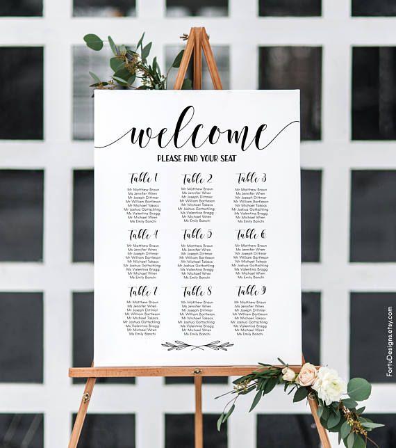Custom Wedding Seating Charts. Order your custom sign at Boardman Printing. Visit us on Facebook/BoardmanPrinting