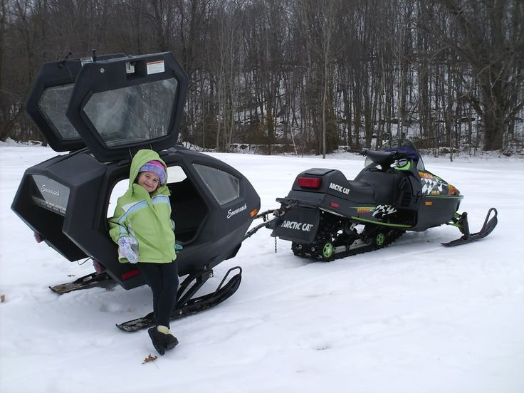 pull behind snowmobile sleds   Cori, def. a must for next winter...I'm thinking I want to ride in it ..lol