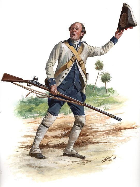 Spanish; Regiment of Louisiana, Soldier, c.1778-82 by Don Troiani