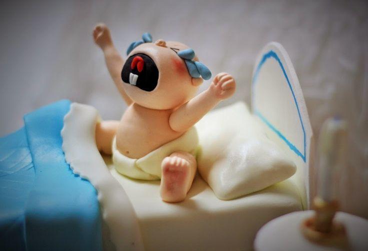 Las tartas de Vanesa: Tarta bebé llorón