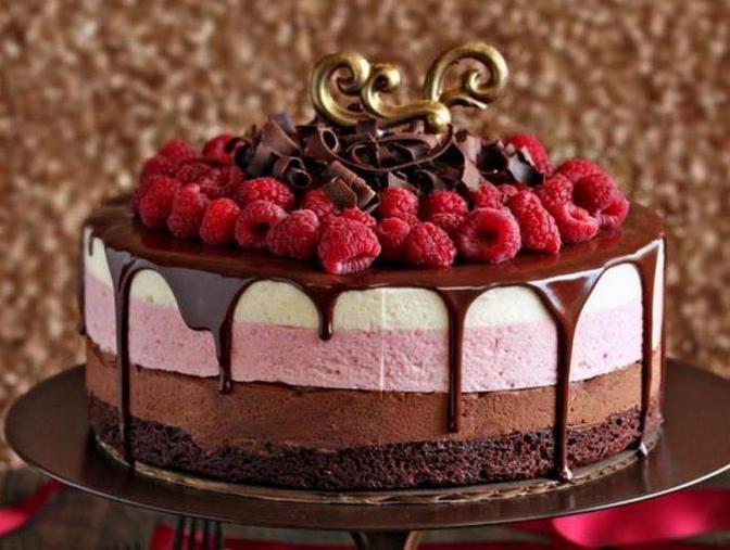 шоколадно муссовый торт