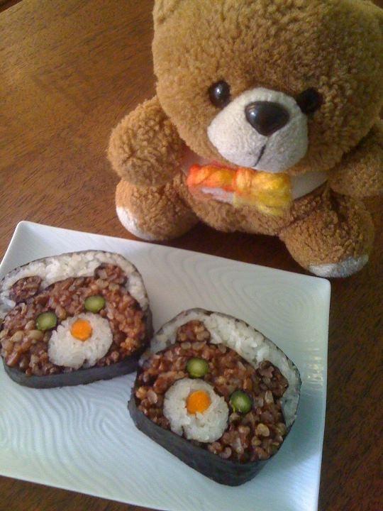 Teddy bear sushi