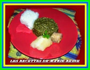 feuille de manioc aux poissons