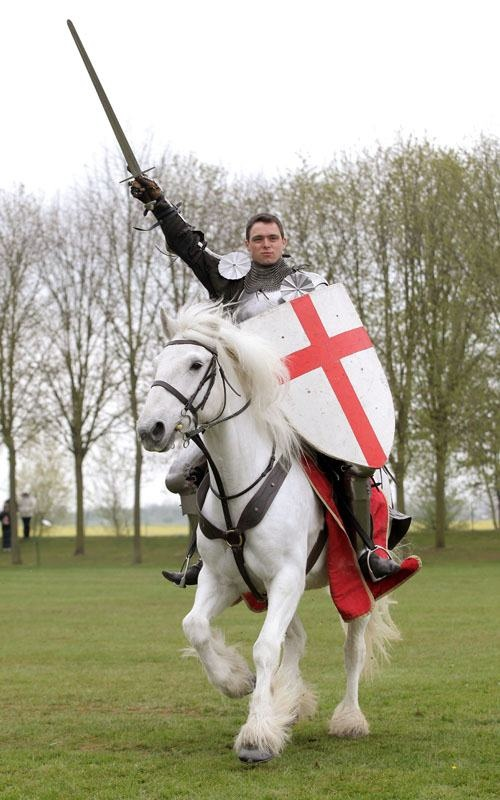 "St Georges Day: ""Even the choice of England's patron saint is downright eccentric – on 23 April, the English celebrate St George, an obscure Palestinian, famed for slaying somewhere else an animal that didn't exist."" Eccentric Britain; www.bradtguides.com"