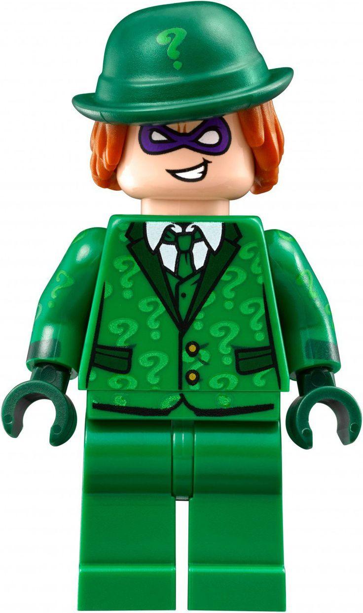 LEGO Minifigure The Riddler  - LEGO BATMAN THE MOVIE - verkijgbaar op https://www.olgo.nl/lego/super-heroes/lego-batman.html de leukste online LEGO Winkel