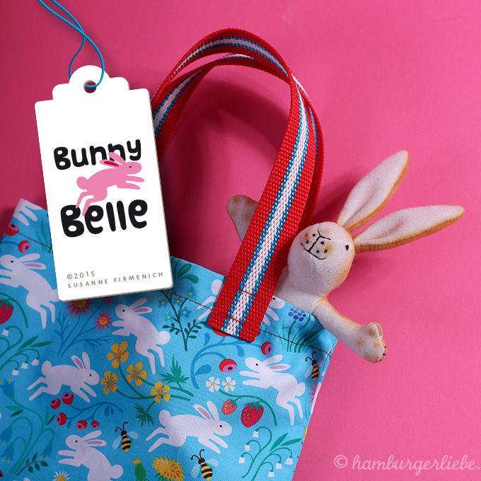 Hamburger Liebe: Die süßeste Bunny-Party der Welt: Häschen in Häschen-Klamotten {neue Stoffe!}