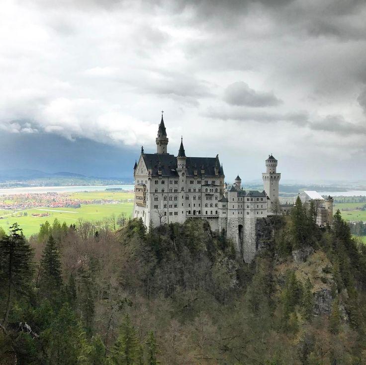 "Neuschwanstein Castle, Germany  _shutterbug_ (@_shutterbug_bec_) on Instagram: ""The castle that Walt Disney based his one on, Neuschwanstein castle  #neuschwansteincastle…"""