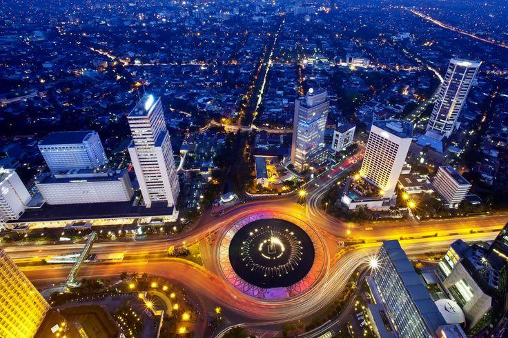 The Eye of Jakarta City by Henry  Trust, via 500px