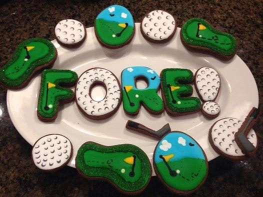 Golf_Cookies | Cookie Connection