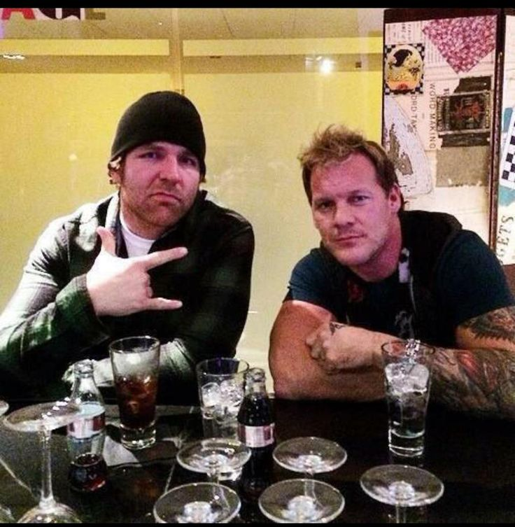 Dean and Chris Jericho.