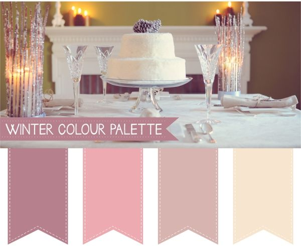 Wedding Colour Palettes  For more insipiration visit us at https://facebook.com/theweddingcompanyni or http://www.theweddingcompany.ie