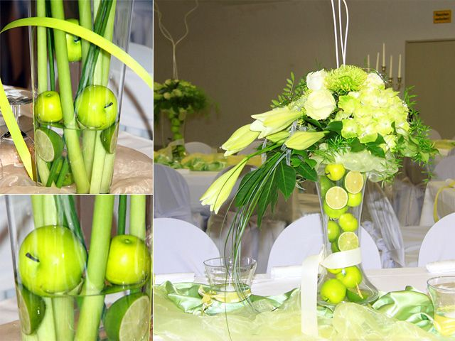 27 best apple decorating ideas images on pinterest apples table flowers matching with the green wedding junglespirit Gallery