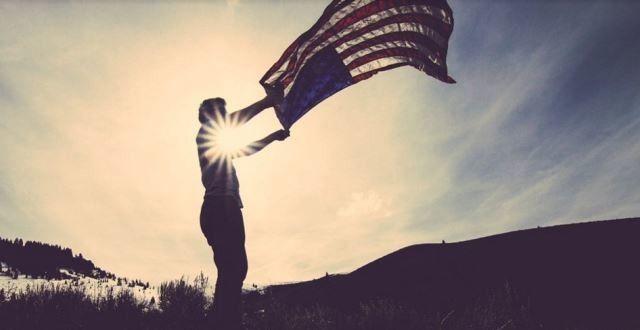 USA Lotto, USA Flag, USA Fahne