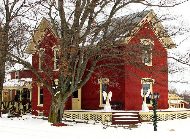 What Color Door For A Red Brick House?   Bing Images