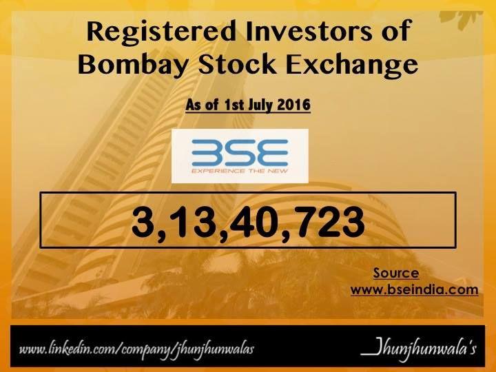 Investors registered with #India #StockExchange #BSE #BombayStockExchange  Also called the #IndianInvestors #DomesticInvestors #LocalInvestors