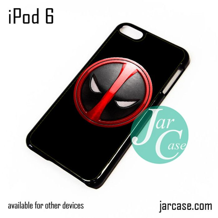 Deadpool Emblem iPod Case For iPod 5 and iPod 6