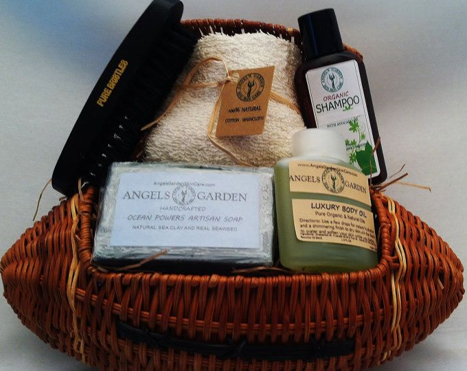 Mens Football Gift Basket Christmas Gift for Him Gift Basket for men Bath & body gift for men.Father gift Husband Gift.Coworker Gift Sports