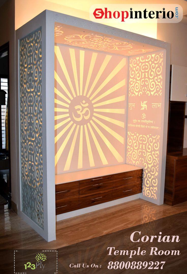 wallpaper ideas for living room india most popular paint colors rooms best 25+ puja on pinterest   mandir design ...