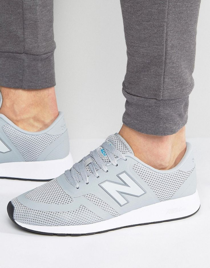 Get this New Balance's sneakers now! Click for more details. Worldwide shipping. New Balance 70s Running 420 Trainers in Grey MRL420GY - Grey: Running Trainers by New Balance, Supplier code: MRL420GY, Breathable mesh upper, Lace-up fastening, Branded tongue and cuff, Padded for comfort, Signature N to side panel, Flex-groove tread, Wipe with a damp sponge, 100% Textile Upper. Boston based brand, New Balance began life in the 1900s as an arch support company. Developed into a range of…