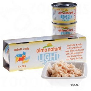 Bonjour, je vends 18 boites de 50gr d'almo nature.   Almo Nature Light est une nourriture humide de qualité premium pour chats, à base d'ingrédients de qualité, faible en calories, également pour chats en surpoids ou ayant peu d'activité.