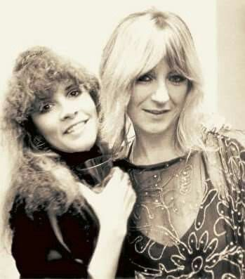 Stevie Nicks and Christine McVie of Fleetwood Mac