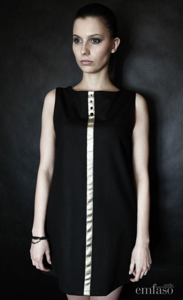 coctail dress by Emilia Sikorska www.emfaso.com