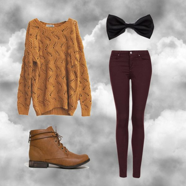 Cloudy Day Outfit by poodlesrcool on Polyvore featuring polyvore, fashion, style, Topshop and Breckelle's