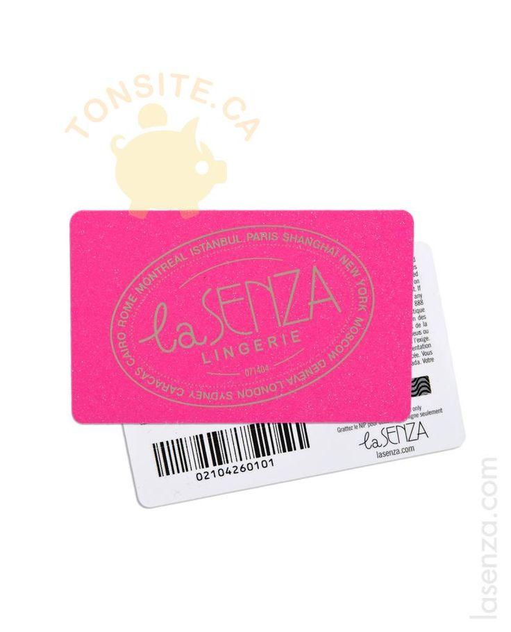 Participez au concours La Senza et courez la chance de gagner un des des 38 prix suivants:  trente-sept (37)prix quotidiens: huit (8)cartes-cadeaux La Senza d'une valeur de 100$, dix (10)cartes-cadeaux La Senza d'une valeur de 50$ et dix-neuf (19)cartes-cadeaux La Senza d'une valeur de 25$ (individuellement, un «Prix quotidien» et collectivement les «Prix…