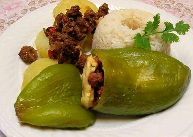 585 best todo peru images on pinterest yma sumac peru and singers caigua rellena comida peruana fandeluxe Images