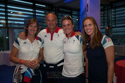 Dame Katherine Grainger, Sir Steve Redgrave, Heather Stanning and Helen Glover