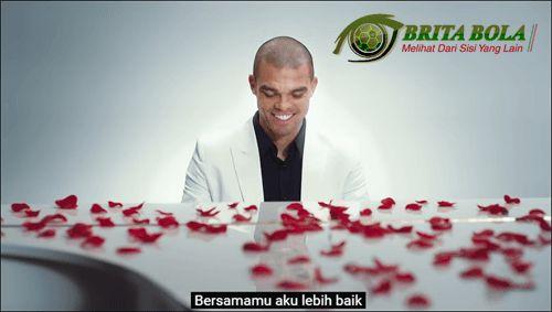 Pepe Real Madrid Romantis di Hari Valentine