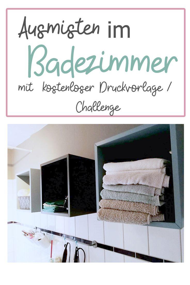 Schön Ausmisten Und Frühjahrsputz Im Badezimmer Mit Checkliste
