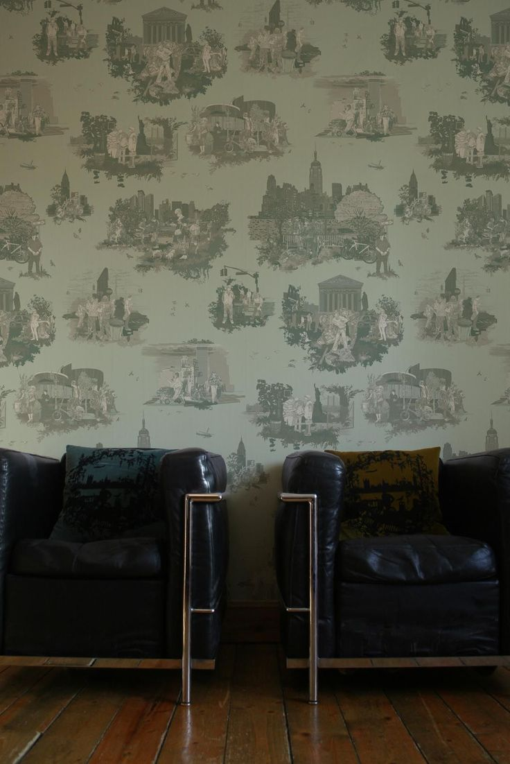 Timorous Beasties - New York Toile available at walnut wallpaper #wallpaper