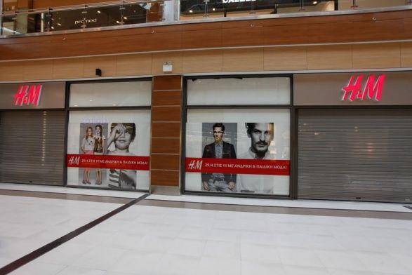 Κατασκευή καταστήματος H&M - The Mall Athens - 2η φάση, Α. Παπανδρέου 35, Μαρούσι. Συνολική επιφάνεια: 1.000 τμ – Χρόνος κατασκευής: 48 ημέρες. Μελέτη εφαρμογής: Αρχιτεκτονικό γραφείο Κωνσταντίνου Περιφανάκη.