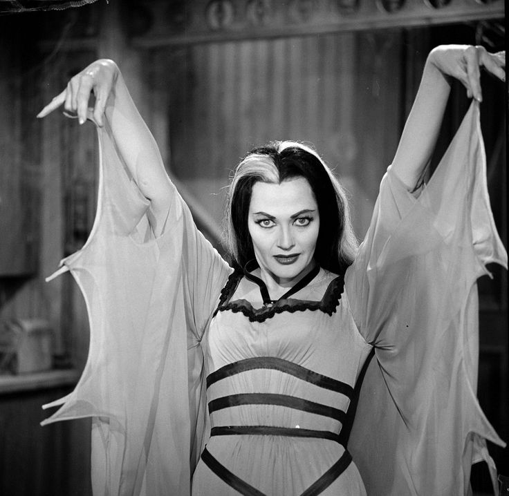 September 1: Yvonne De Carlo - Lily Munster from 'The Munsters' (1964 -1966).