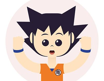 "Check out new work on my @Behance portfolio: ""Goku"" http://on.be.net/1Ik2xYO"