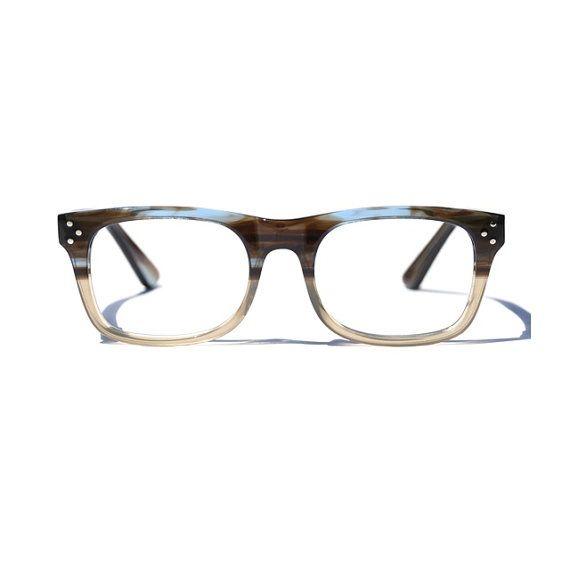 225bbf5bd04b0 Retro Wayfarer Eyeglasses, Wayfarer Reading Glasses, Prescription Glasses,  Two Toned Glasses, Unisex