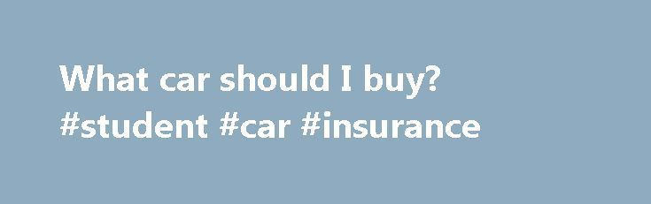 What car should I buy? #student #car #insurance http://car.remmont.com/what-car-should-i-buy-student-car-insurance/  #what car should i buy # What car should I buy? I want: 4 door, AWD, 6 speed manual (needed for engine braking on ice — no paddle shifters!), 270 horsepower, and heated leather seats. Any suggestions? Sounds like a recipe for success on our end: Combine ample power, rowing your own gears and all-wheel […]The post What car should I buy? #student #car #insurance appeared first…