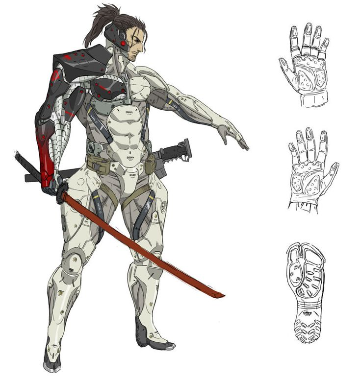 Samuel Body Design - Characters & Art - Metal Gear Rising: Revengeance